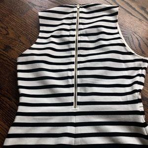 Express Dresses - Express black and white dress 🔲 EUC